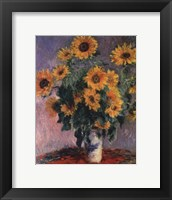 Framed Sunflowers, c.1881