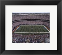 Framed Giants Stadium 2007