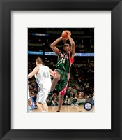 Framed Desmond Mason 2007-08 Action