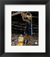 Framed J.R. Smith 2007-08 Action