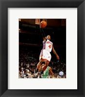 Framed Nate Robinson 2007-08 Action