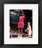 Framed Antonio McDyess 2007-08 Action