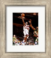 Framed Jamal Crawford 2007-08 Action