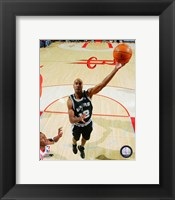Framed Bruce Bowen 2007-08 Action