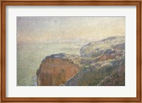 Framed On the Cliffs, Dieppe