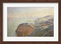 Framed On the Cliffs, Dieppe