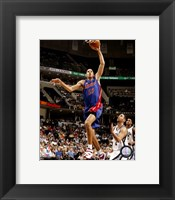 Framed Tayshaun Prince 2007-08 Action