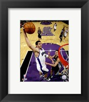 Framed Brad Miller 2007-08 Action