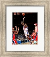 Framed Jamal Crawford 2007-08 Action On The Court