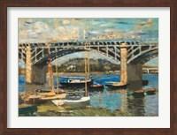 Framed Bridge at Argenteuil (bridge center)