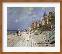 Framed Beach at Trouville, c.1870