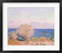 Framed View of Bay At Antibes & Maritime Alps