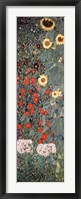 Framed Garden with Sunflowers, c.1906