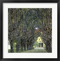 Framed Avenue of Trees in the Park at Schloss Kammer, c.1912