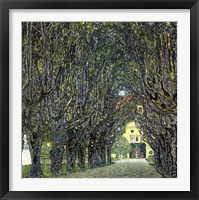 Framed Avenue of Trees in the Park at Schloss Kammer, c.1912