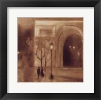 Framed Seine Twilight Detail