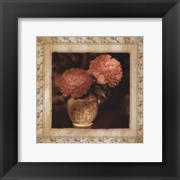 Framed English Peony I