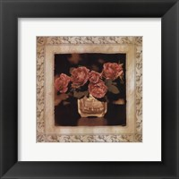 Framed English Rose I