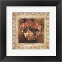 Framed English Rose II