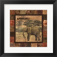 Safari II - mini Framed Print