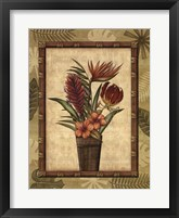 Framed Paradisio Bouquet II