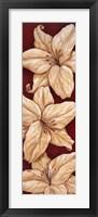 Bella Grande Lilies Framed Print