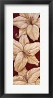 Bella Grande Lilies - mini Framed Print