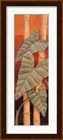 Framed Bali Leaves II