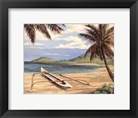 Framed Outrigger Cove - mini