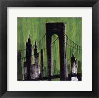 Framed Green Cityscape