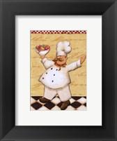 Le Chef et les Fruits - mini Framed Print