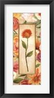 Sweet Romance Panel I Framed Print