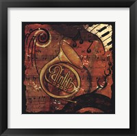 Framed Jazz Music III - mini