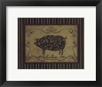 Framed le Cochon