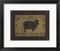 le Mouton Framed Print