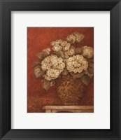 Framed Villa Flora Hydrangeas - mini