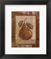 Rustic Pears II - mini Framed Print