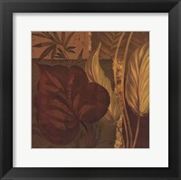 Tropical Foliage II - mini Framed Print