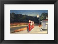 Framed Gas, 1940