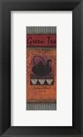 Green Tea - petite Framed Print