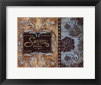 Savon de Paris Framed Print