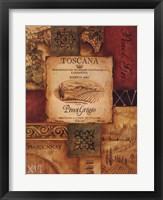 Wine Country I - mini Framed Print