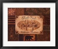 Trails End Framed Print