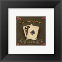 Framed Blackjack - special