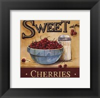 Framed Sweet Cherries - Mini