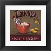 Framed Lemon Meringue - Mini