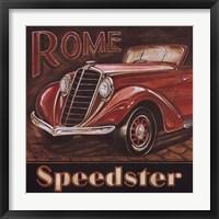 Rome Speedster Framed Print