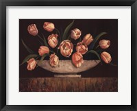 Framed Elegant Tulips - mini