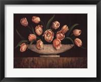 Framed Elegant Tulips - mini