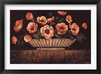 Framed Elegant Poppies